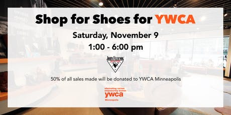 Shop for Shoes for YWCA tickets