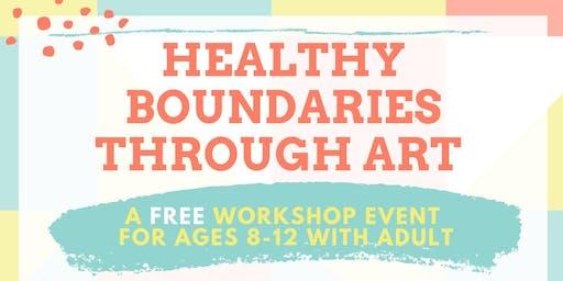 Healthy Boundaries Through Art