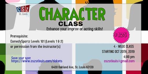 ComedySportz St Louis Character Class