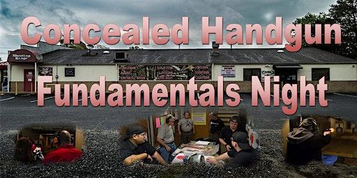 Concealed Handgun Fundamentals Night