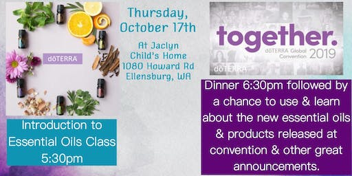 doTERRA Intro to Essentials Oils/Post Convention Event