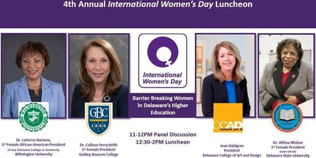 4th Annual International Women's Day Luncheon tickets