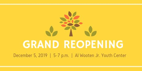 Wooten Center Grand Reopening tickets