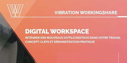 Digital Workspace: Intégrer des outils digitaux dans votre travail