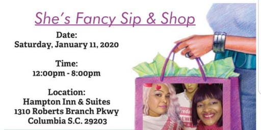 She's Fancy Sip & Shop