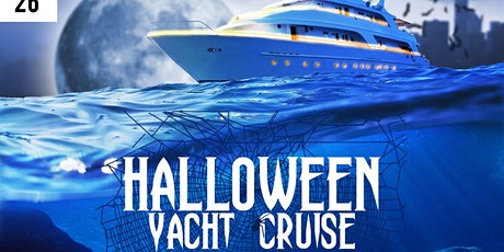 #1 HALLOWEEN YACHT PARTY CRUISE  tickets