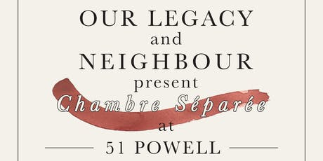 Shop Neighbour & Our Legacy present Chambre Séparée tickets
