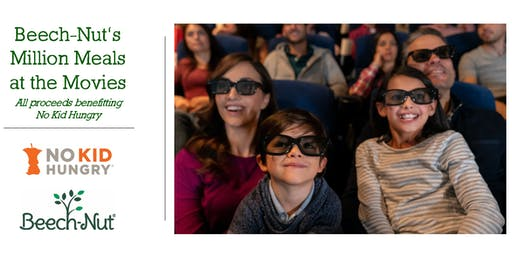 Beech-Nut's Million Meals at the Movies Benefitting No Kid Hungry - Dallas