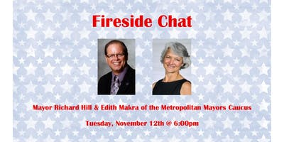 Fireside Chat: Mayor Richard Hill & Edith Makra