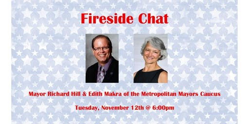Fireside Chat: Mayor Richard Hill & Edith Makra
