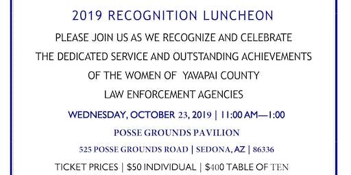 Celebrating Women in Law Enforcement in Yavapai County Luncheon