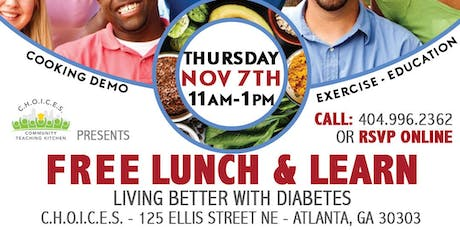Living Better with Diabetes - Lunch & Learn tickets