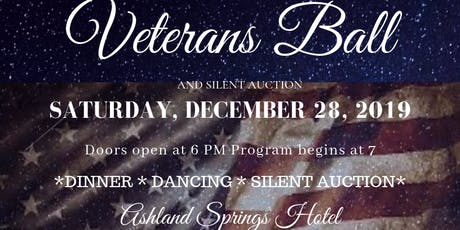 Southern Oregon Veterans Ball tickets