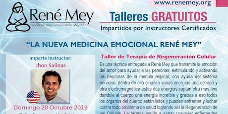 Oct 20 Miami Talleres Tecnicas Medicina Emocional Rene Mey entradas