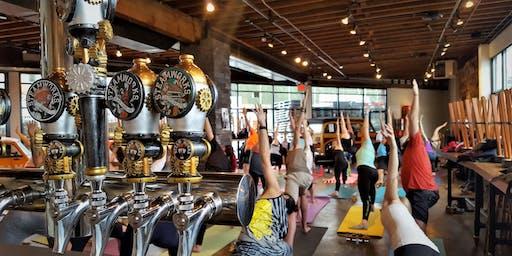 Steamworks Yoga on Tap