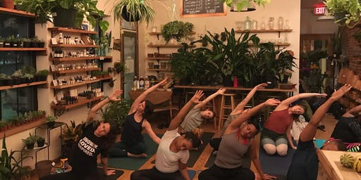 Yoga After Hours at B. Willow