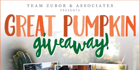 2nd Annual Great Pumpkin Giveaway tickets