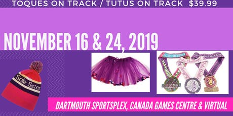 Fall Tutu Challenge: Toques on Track AND Tutus on Track tickets
