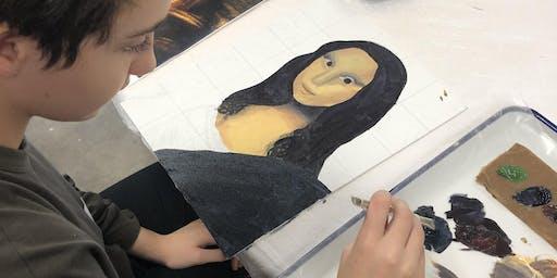 """STUDIO ART FOCUS """"After School Art Program"""" BLOCK #2, for ages 13-18"""