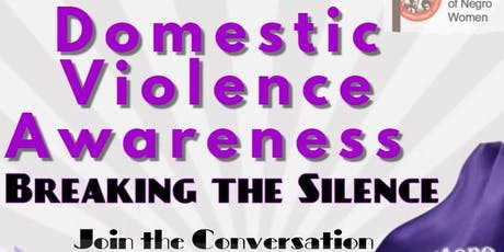 Silent No More: Domestic Violence Awareness tickets