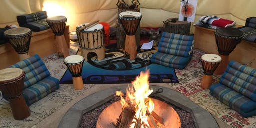 Connecting to Rhythm in the Drum Circle