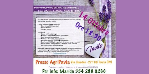 Pavia Corso Gratuito sugli Oli Essenziali