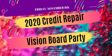 2020 Credit Vision Board Party tickets