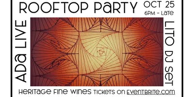 ROOFTOP PARTY - Night of Boheme.