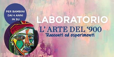 """Laboratorio per bambini: """"L'arte del 900"""" - Pablo Picasso biglietti"""
