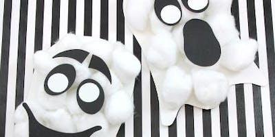 Toddler Craft: Ghosts!