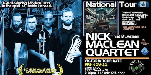 Nick Maclean Quartet feat. Brownman Ali (Toronto, ON) ~ Live Jazz ~