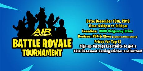 BATTLE ROYALE - Air Riderz (Mississauga) tickets