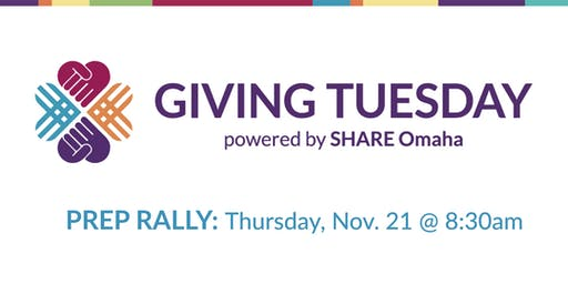 Giving Tuesday Prep Rally