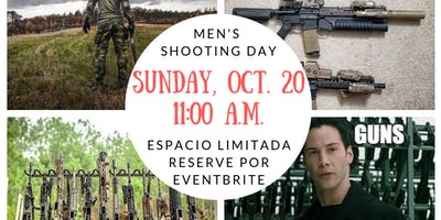 Men's Shooting Day (weather permitting)