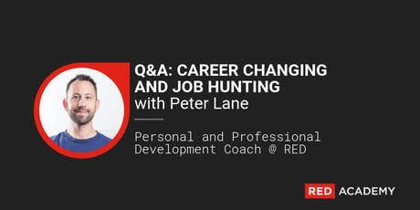 WEBINAR: JOB HUNTING + CAREER CHANGING tickets