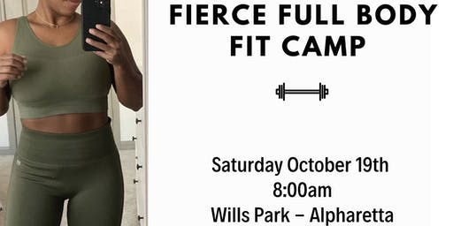 Fierce Full Body Fit Camp