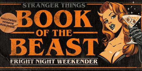 Stranger Things: Book of the Beast Fright Night Weekender tickets