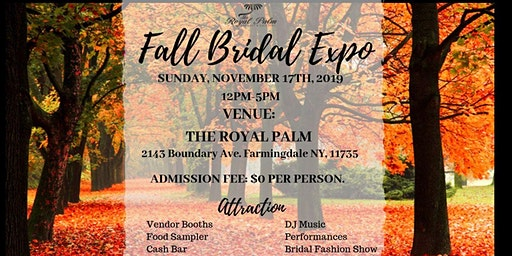 Winter Bridal Expo. 2019