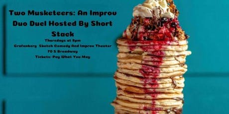 Two Musketeers: An Improv Duo Duel Hosted By Short Stack tickets