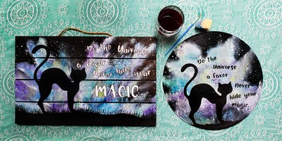 Halloween Magic Paint and Sip!