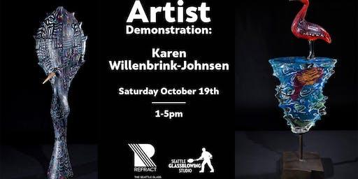 Refract 2019 - Artist Demonstration: Karen Willenbrink-Johnsen
