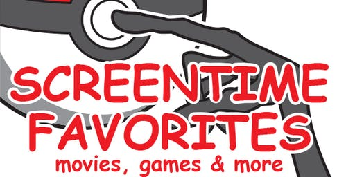 MSO presents Screentime Favorites: movies, games and more!