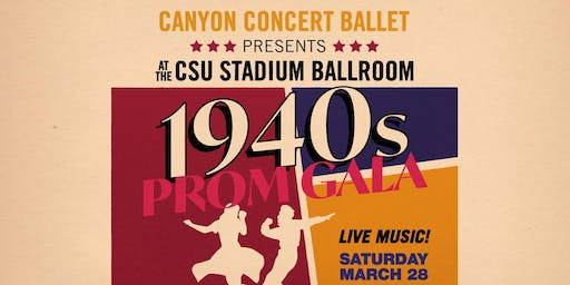 Canyon Concert Ballet's Adult Prom 2020