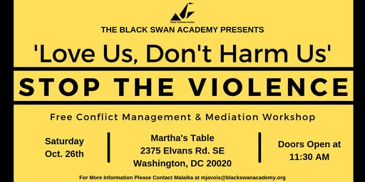 Stop the Violence - Conflict Mediation Skills Workshop