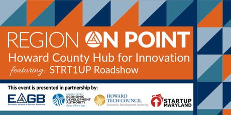 Region On Point: Howard County Hub for Innovation tickets