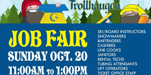 Trollhaugen Winter Job Fair