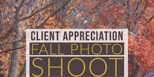 Client Appreciation Photo Shoot