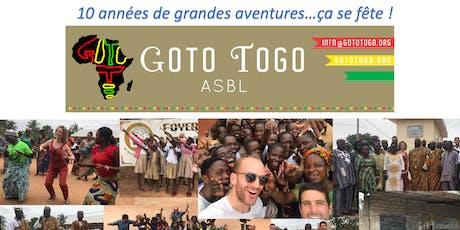 Célébration des 10 ans de Goto Togo billets