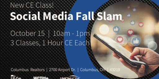Social Media Marketing Fall Slam