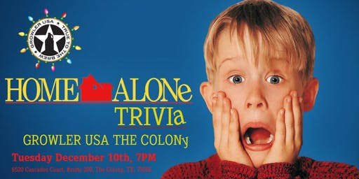 Home Alone Trivia at Growler USA The Colony